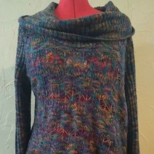 United States Sweaters XL Multi-color Knitted Top